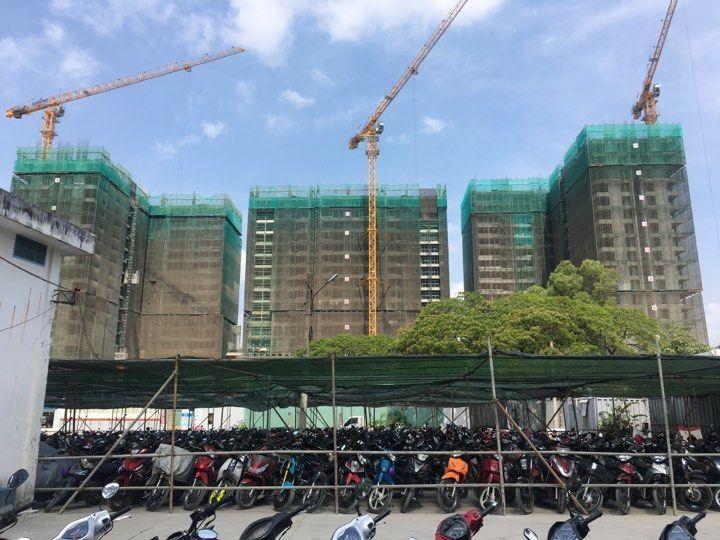 Tiến độ thi công dự án Aio City Bình Tân