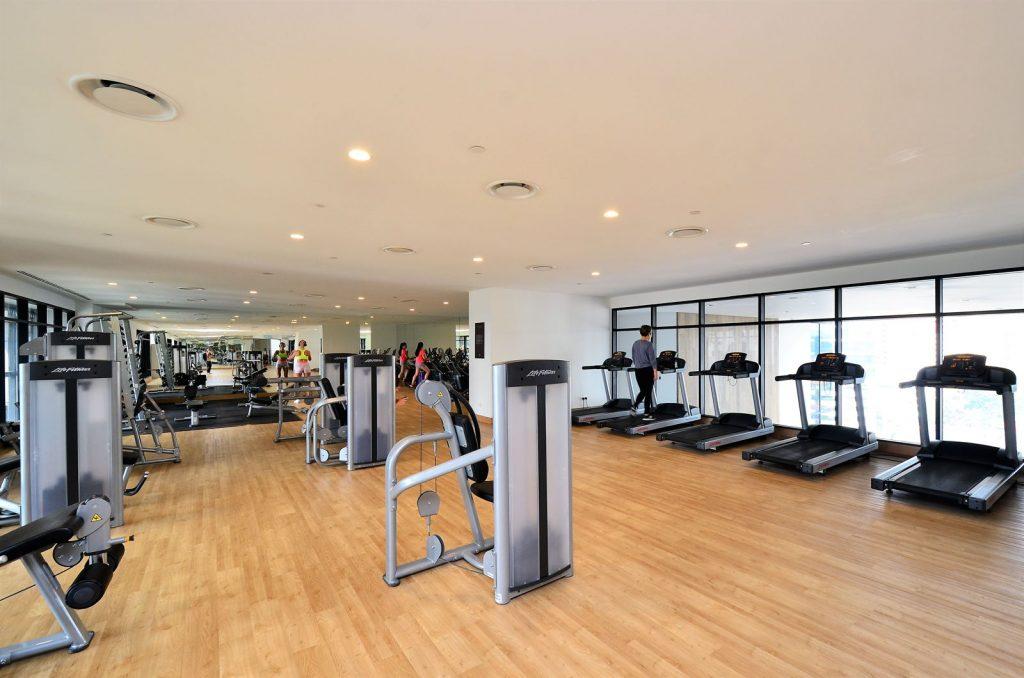 Phòng gym hiện đại tại aio city bình tân